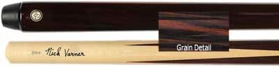 Nick Varner's High Run One Piece 4 Point Rosewood House Cue stick (NV-337-1)