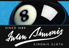 Simonis billiard cloth - The cloth of champions since 1860