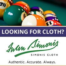 Iwan Simonis Pool Table Felt Cloth