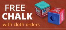 Free box of chalk with cloth orders