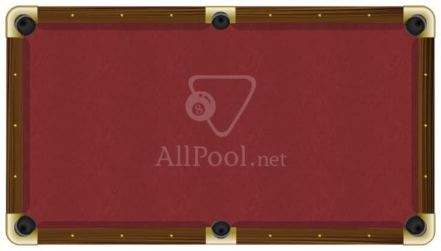 Proform Billiard Pool Table Felt 8 Oversize Bed Cloth 6 Rail Cloths Burdy