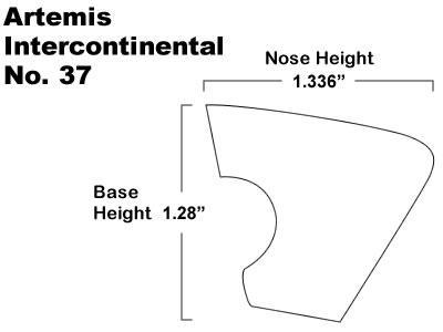 Artemis Intercontinental No 37 Billiard Cushions For Pool