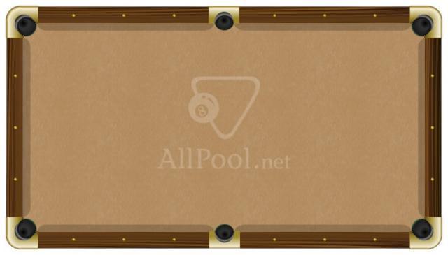 Proform Billiard Pool Table Felt 8 Oversize Bed Cloth 6 Rail Cloths Khaki