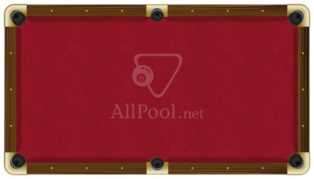 Awesome ProForm Billiard Pool Table Felt   8u0027 Oversize Pool (bed Cloth U0026 6 Rail  Cloths) Red