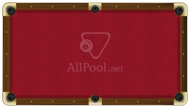 ProForm Billiard Pool Table Felt   8u0027 Oversize Pool (bed Cloth U0026 6 Rail  Cloths) Red