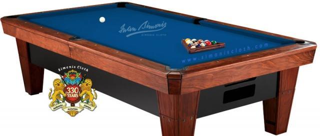 Simonis 860HR™ Billiard Cloth   8u0027 Pool (bed Cloth U0026 6 Rail Cloths) Royal  Blue