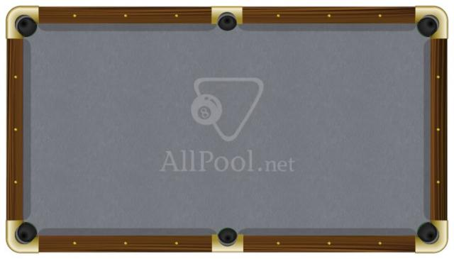 ProForm Billiard Pool Table Felt   8u0027 Oversize Pool (bed Cloth U0026 6 Rail  Cloths) Steel Grey