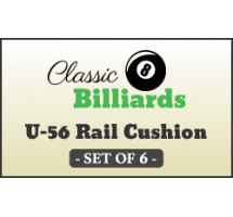 U56 Replacement Rail Rubber Cushions For Centennial Contender