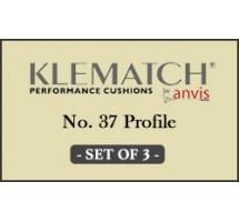 Klematch (Kleber) #37 Rubber Carom Cushion (Set of 3)