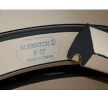 Klematch (Kleber) Profile #37 Rubber Carom Cushion (close up)