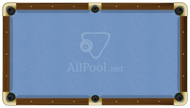 ProForm Billiard Pool Table Felt   8u0027 Oversize Pool (bed Cloth U0026 6 Rail  Cloths) Tournament Blue